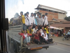 Skolbuss, Kambodia