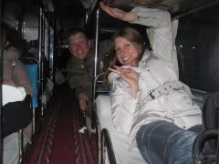 Nattbuss mellan Zhengzhou och Peking