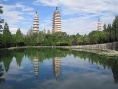 Dali, 3 pagoderna