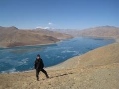 Yamdrotso sjön, Tibet