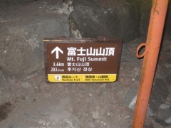 Mt Fuji, exakt tidsuppskattning
