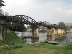 Bron över floden Kwai, Kanchanaburi