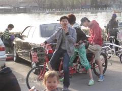 Cykla är inte helt lätt